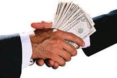 fraude handen