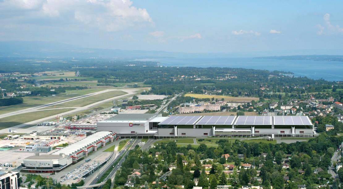 Palexpo Geneva horizontale