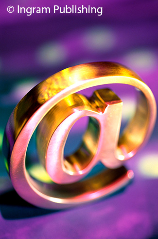 Golden @ symbol