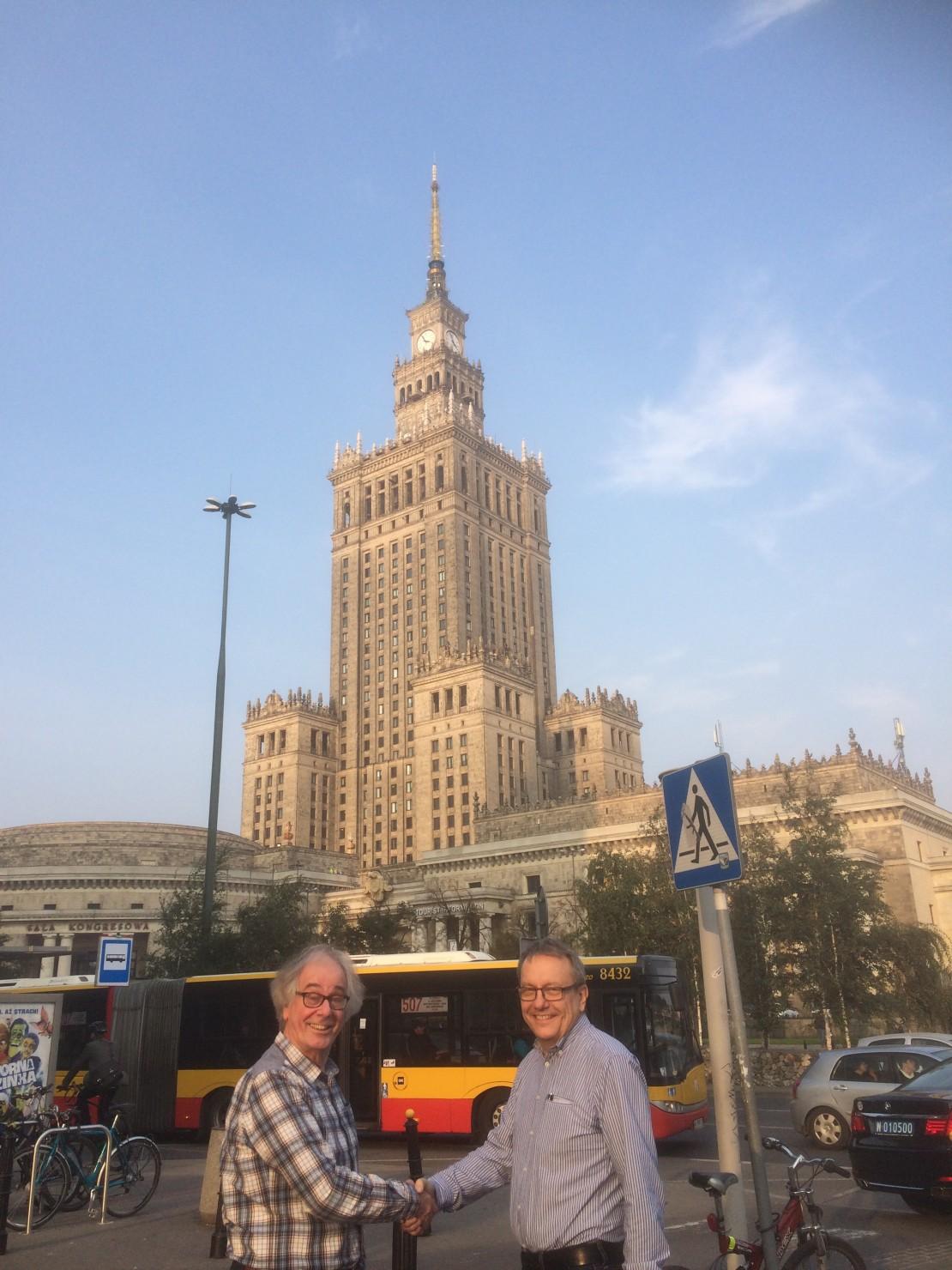 Warschau illustratie