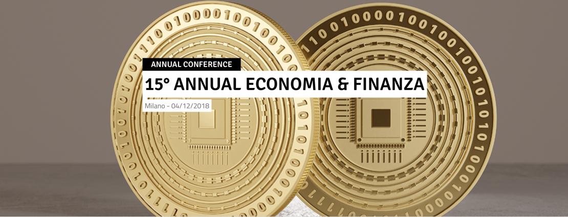 Banner Evento Economia e Finanza