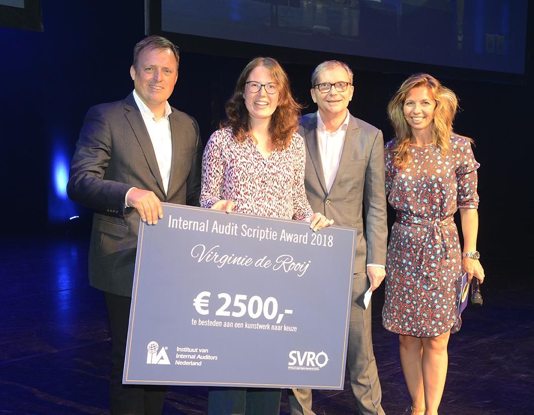 Scriptieprijs winnaar Virginie de Rooij LR